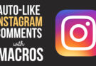 Auto-Like Instagram Comments with this iMacros Script
